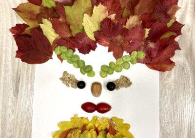 Krásná podzimní výtvarka