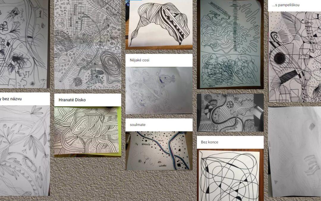 Výtvarná dílna ve 3. trojročí – Kresba bez rozumu