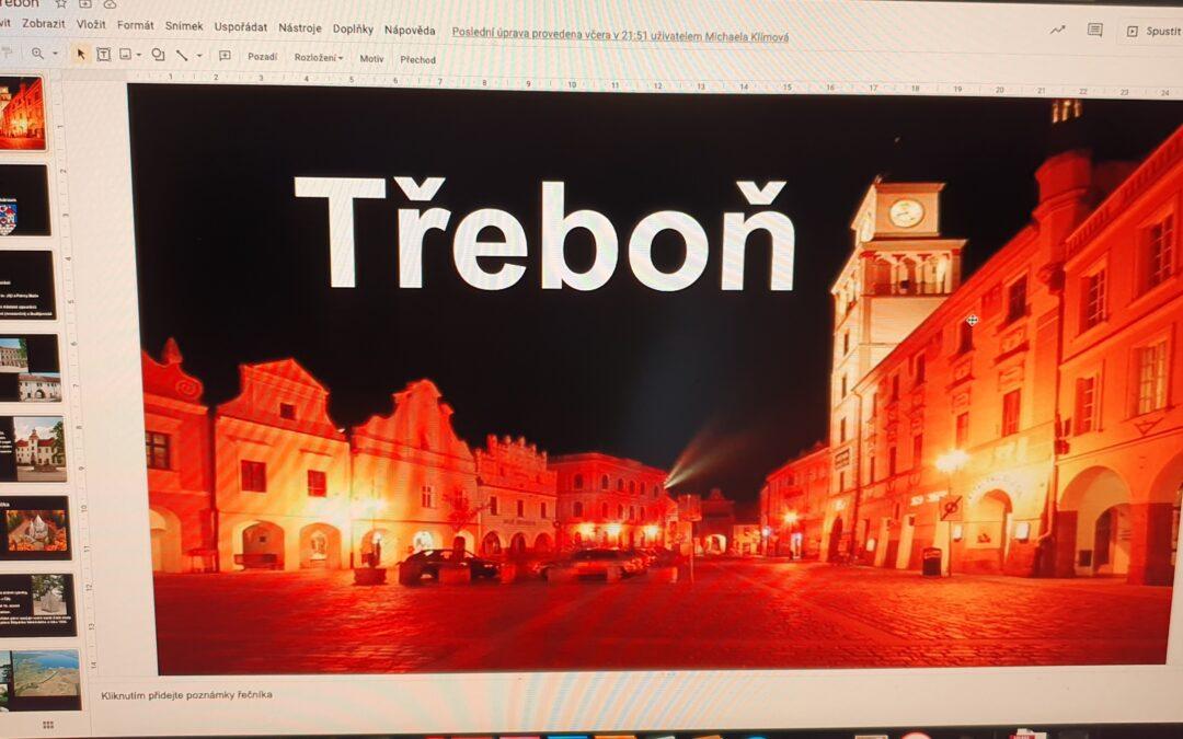 Prezentace zajímavých míst České republiky